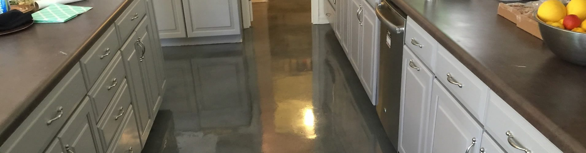 Interior decorative concrete seal coating nashville for Indoor concrete cleaner