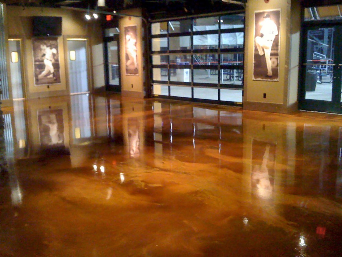 concrete pinterest floor floors fmg pin stained custom