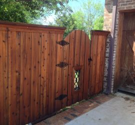 Nashville Fence Staining